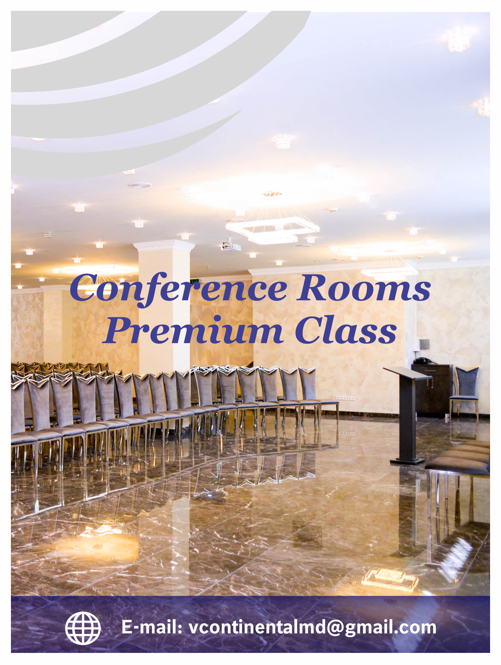 Rent conference rooms Chisinau